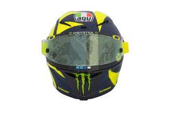 Valentino Rossi új sisakja