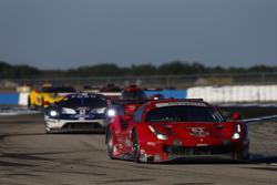 Алессандро Пьергвиди, Тони Виландер, Джеймс Каладо, Risi Competizione, Ferrari 488 GTE (№62)