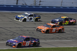 Denny Hamlin, Joe Gibbs Racing, Toyota Camry FedEx Express Daniel Suarez, Joe Gibbs Racing, Toyota Camry ARRIS