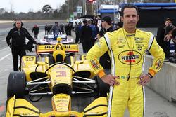 IndyCar-Test in Birmhingham, März