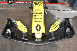 Renault F1 Team RS18 front wing detail