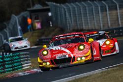 #2 GIGASPEED Team GetSpeed Performance Porsche 911 GT3 R: Steve Jans, Marek Böckmann