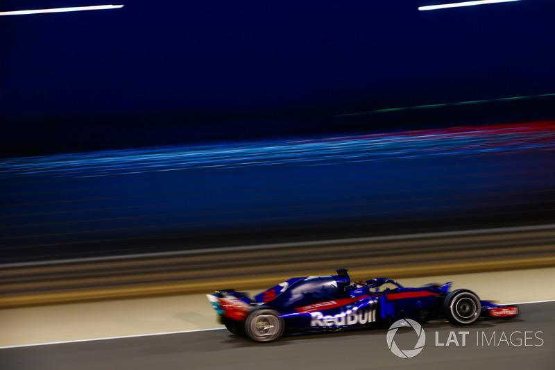 11: Brendon Hartley, Toro Rosso STR13 Honda, 1'30.105
