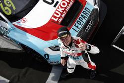 Le vainqueur Jean-Karl Vernay, Audi Sport Leopard Lukoil Team Audi RS 3 LMS