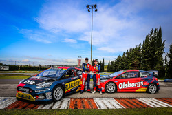 Kevin Eriksson y Robin Larsson, Olsbergs MSE