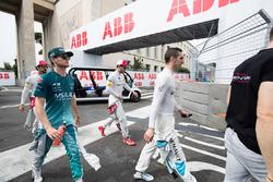 Sébastien Buemi, Renault e.Dams, Tom Blomqvist, Andretti Formula E Team, Daniel Abt, Audi Sport ABT Schaeffler
