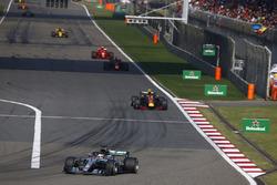 Льюіс Хемілтон, Mercedes AMG F1 W09, Макс Ферстаппен, Даніель Ріккардо, Red Bull Racing RB14 Tag Heuer, Кімі Райкконен, Ferrari SF71H