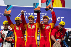 Podyum: Yarış galibi #24 Racing Engineering Oreca 07 - Gibson: Norman Nato, Olivier Pla, Paul Petit