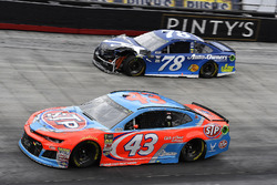 Darrell Wallace Jr., Richard Petty Motorsports, Chevrolet STP and Martin Truex Jr., Furniture Row Racing, Toyota Camry Auto-Owners Insurance