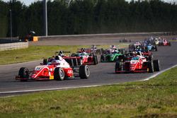 Partenza: Enzo Fittipaldi, Prema Theodore Racing, al comando