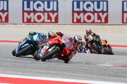 Jorge Lorenzo, Ducati Team, Alex Rins, Team Suzuki MotoGP