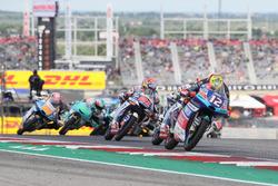 Marco Bezzecchi, Prüstel GP, Jorge Martin, Del Conca Gresini Racing Moto3, Fabio Di Giannantonio, Del Conca Gresini Racing Moto3