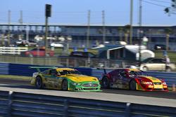 #86 TA Ford Mustang, John Baucom of Baucom Motorsports, #51 TA Ford Mustang, Tom Ellis