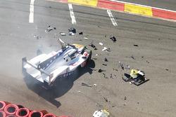 Авария: Пьетро Фиттипальди, DragonSpeed, BR Engineering BR1 (№10)