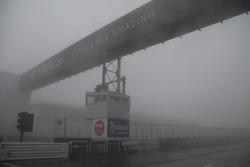 Fog in the pitlane
