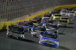 Brett Moffitt, Hattori Racing Enterprises, Toyota Tundra Johnny Sauter, GMS Racing, Chevrolet Silverado ISM Connect