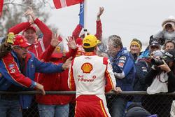 Race winner Fabian Coulthard, DJR Team Penske Ford