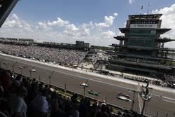 Jack Harvey, Meyer Shank Racing with SPM Honda, Gabby Chaves, Harding Racing Chevrolet, Jay Howard, Schmidt Peterson Motorsports / AFS Racing Honda