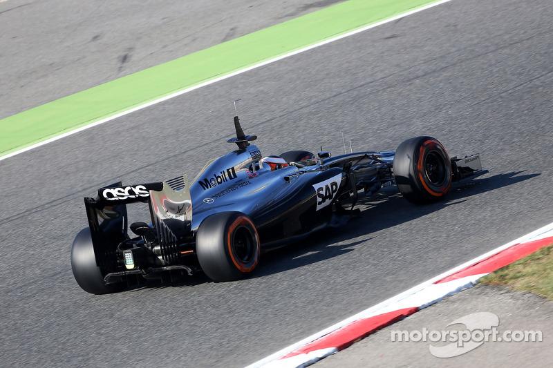 Stoffel Vandoorne, terzo pilota, McLaren F1 Team