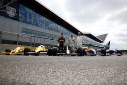 Derek Warwick, Romain Grosjean, Damon Hill