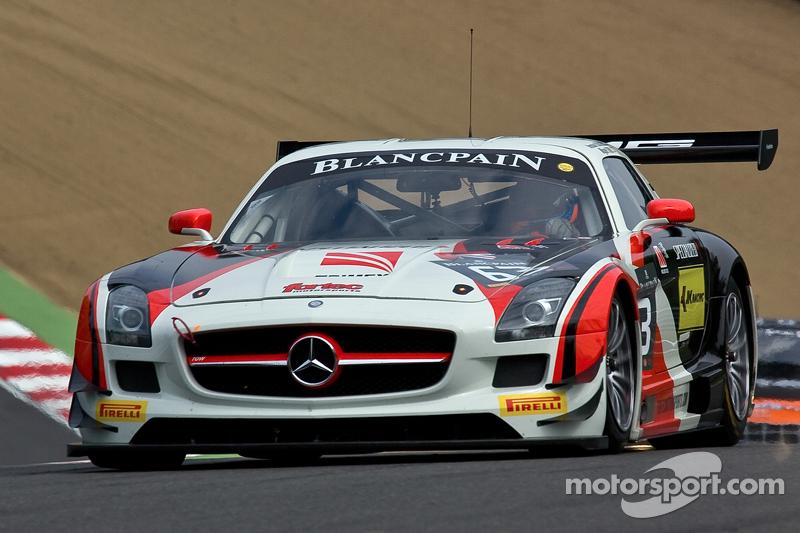 #63 Fortec Motorsports 梅赛德斯 SLS AMG GT3: 米盖尔·托里尔, 尼科·巴斯蒂安