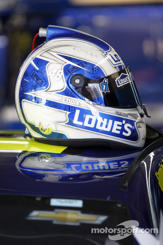 Casco di Jimmie Johnson