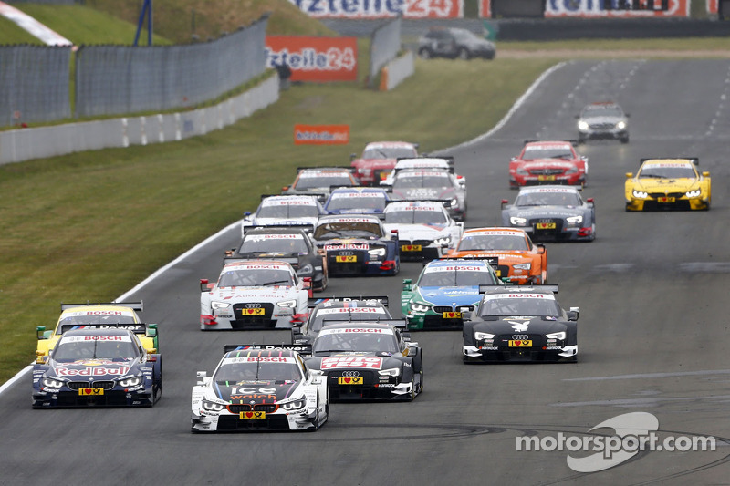 Partenza:Marco Wittmann, BMW Team RMG BMW M4 DTM al comando