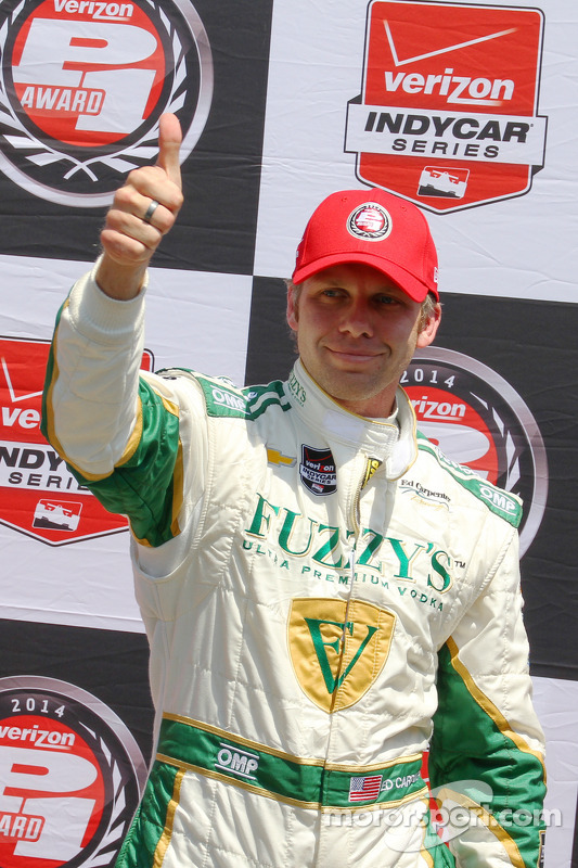 Pole position Ed Carpenter, Ed Carpenter Racing Chevrolet