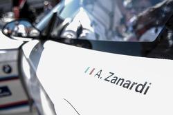 Alex Zanardi detail