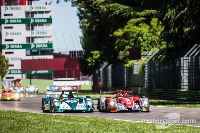 #41 Greaves Motorsport Zytek Z11SN 日产: 汤姆·金博-史密斯, 克里斯·戴森, 马修·麦克穆里 和 #46 Thiriet by TDS Racing 摩根 日产:
