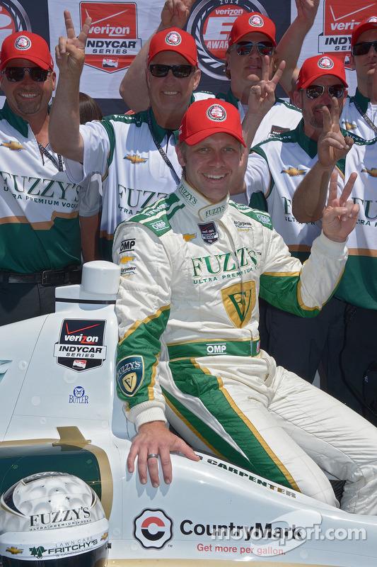 Pole position Ed Carpenter, Ed Carpenter Racing Chevrolet