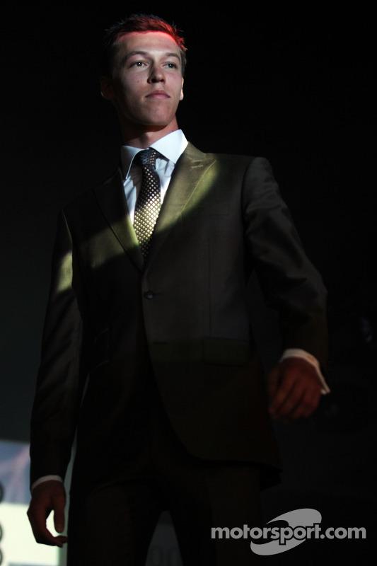 Daniil Kvyat, Scuderia Toro Rosso at the Amber Lounge Fashion Show