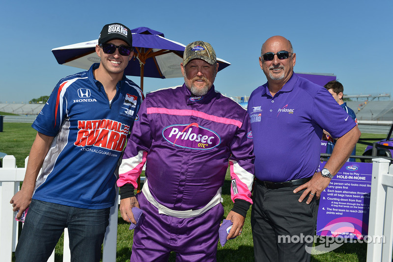 Graham Rahal, Bobby Rahal e Larry the Cable Guy