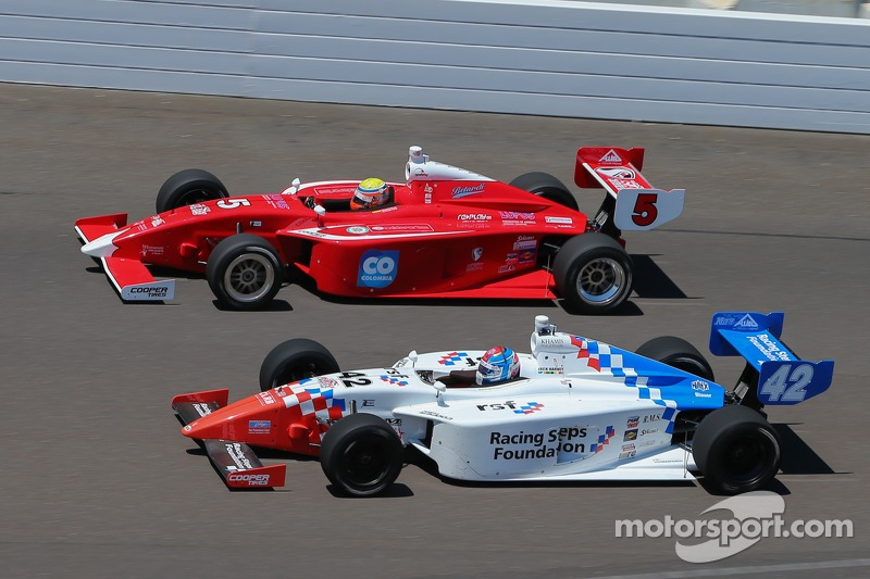 Gabby Chaves, Belardi Auto Racing e Jack Harvey, Schmidt Motorsports Peterson