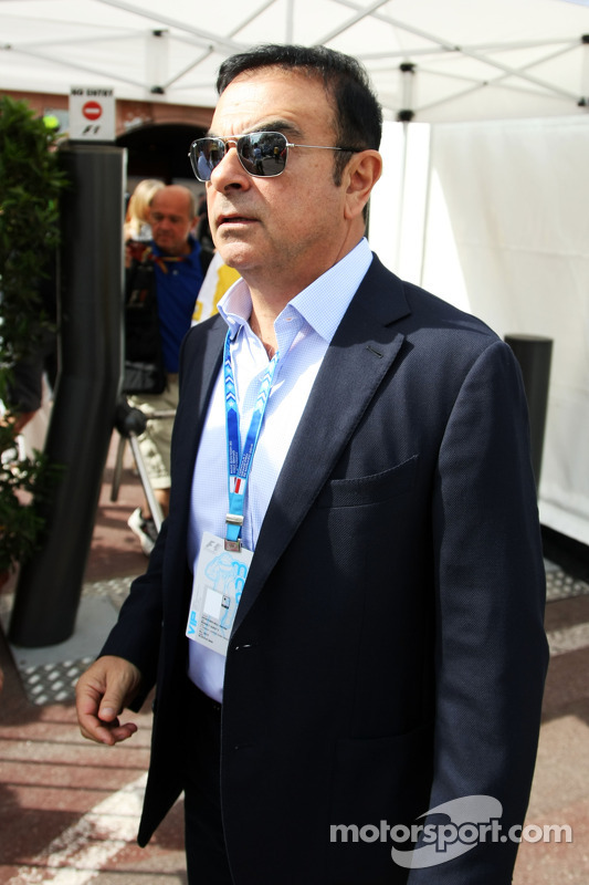Carlos Ghosn, presidente da Renault