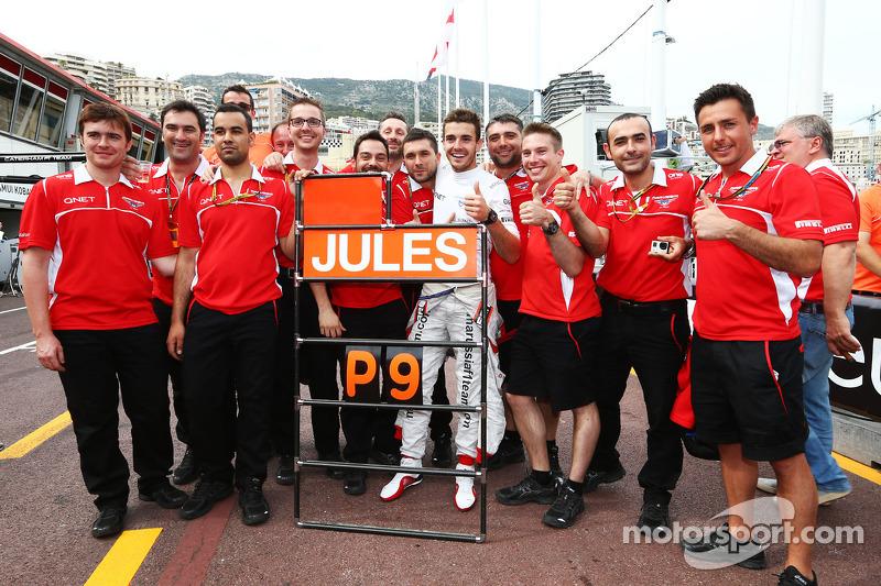 Los primeros y únicos puntos de Marussia en F1
