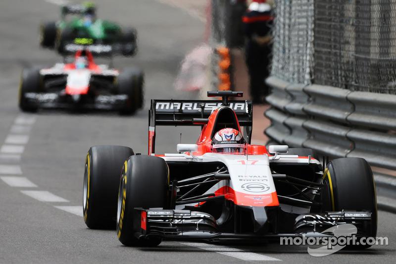 Jules Bianchi recibió dos sanciones en Mónaco 2014
