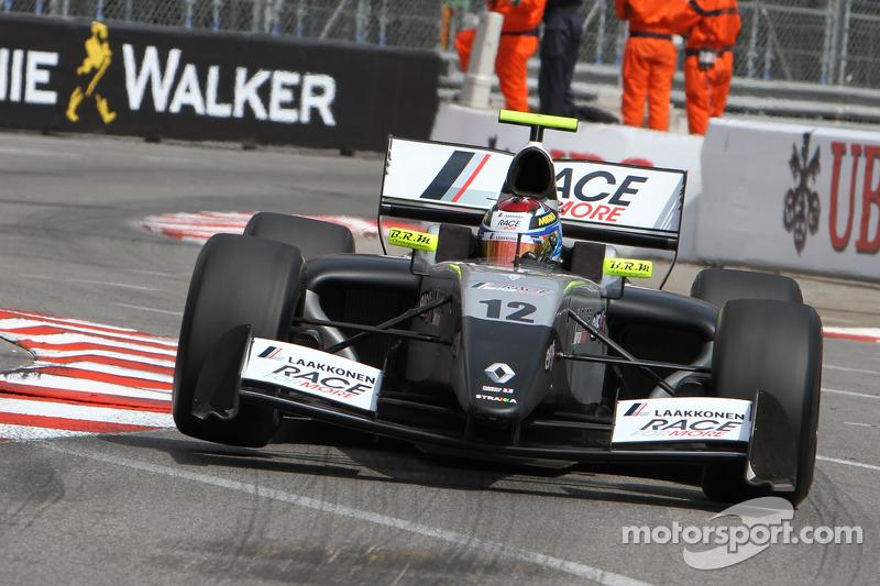 Матиас Лайне. Монако, воскресная гонка.