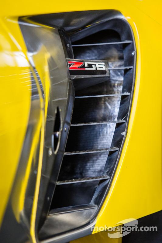 Detalhe Corvette Racing Chevrolet Corvette C7