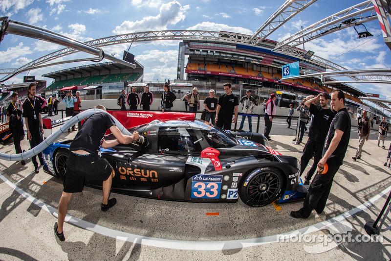 #33 OAK Racing - 亚洲 Ligier JS P2 - HPD