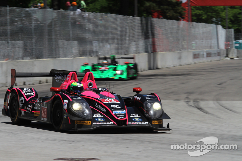 #42 OAK Racing 日产 摩根: 古斯塔沃·亚卡曼 & 阿历克斯·布伦德尔