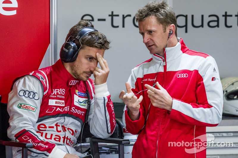 Filipe Albuquerque and Allan McNish
