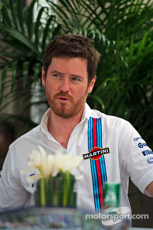Rob Smedley,  Williams F1 Team