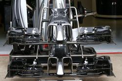 McLaren MP4-29, Frontflügel
