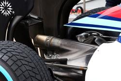 Williams FW36 egzoz detayı