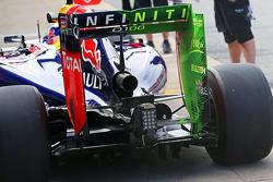 Flow-Vis-Farbe am Heckflügel: Red Bull Racing RB10