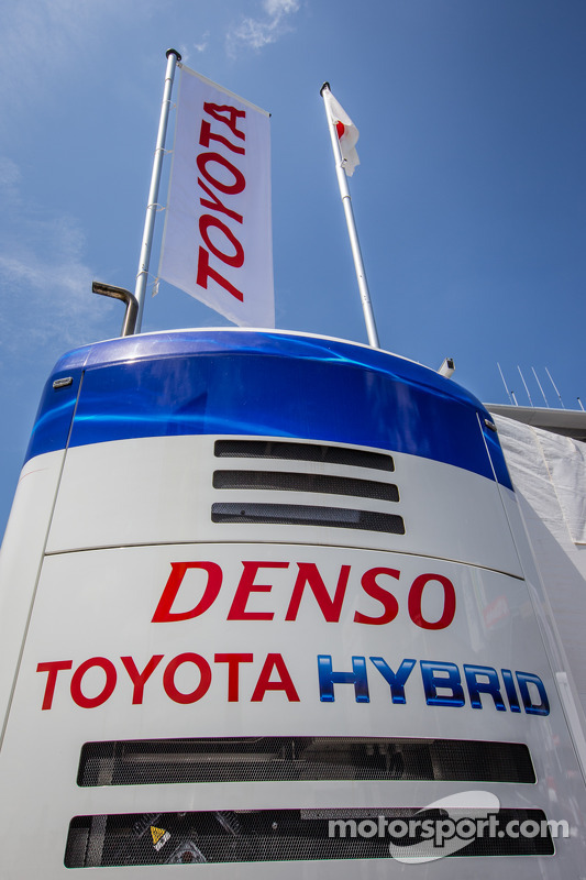 Toyota Racing paddock