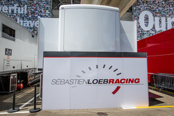 Sébastien Loeb Racing paddock area