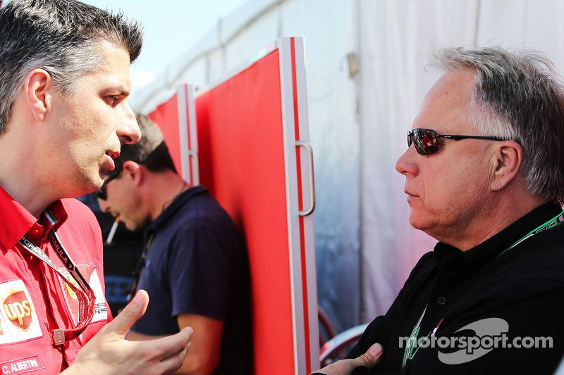 Claudio Albertini, Ferrari Müşteri Takımları Güç Ünitesi Operasyon Başkanı ve Gene Haas, Haas Otomasyon Başkanı