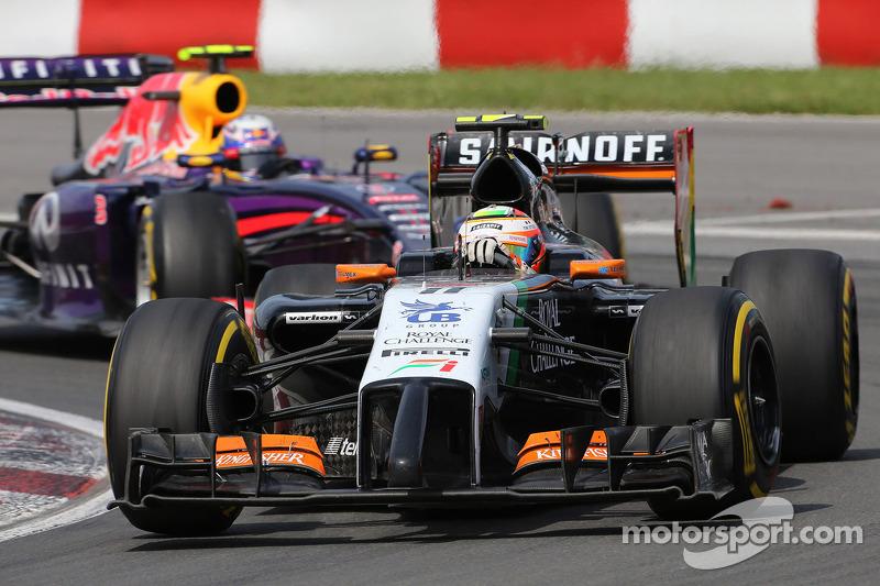 Sergio Perez, Sahara Force India  08